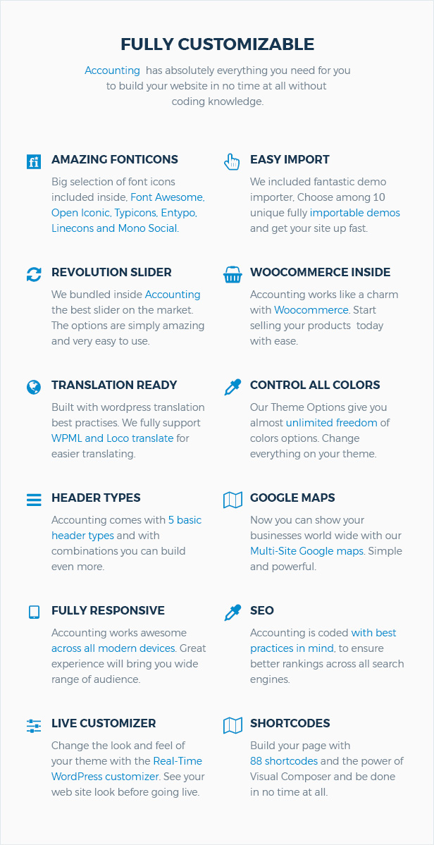 Accounting - Business, Consulting and Finance WordPress theme - 8