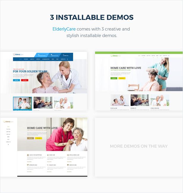 Elderly Care - Medical, Health and Senior Care WordPress Theme - 4