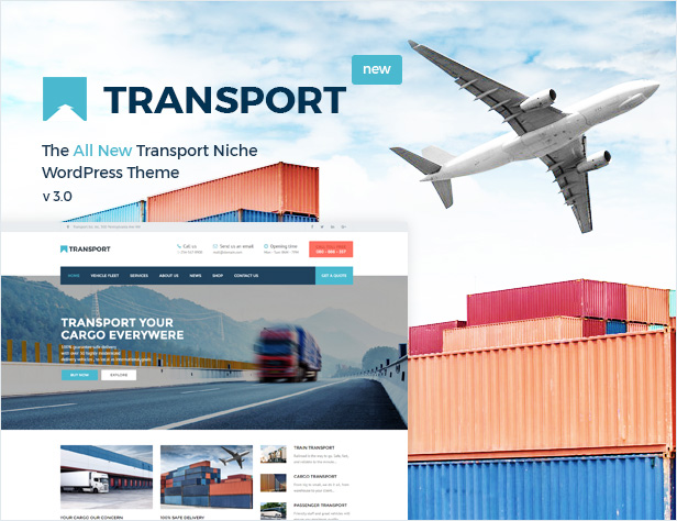 Transport - WP Transportation & Logistic Theme - 1