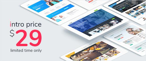 iStart - WordPress Startup Business Theme - 1