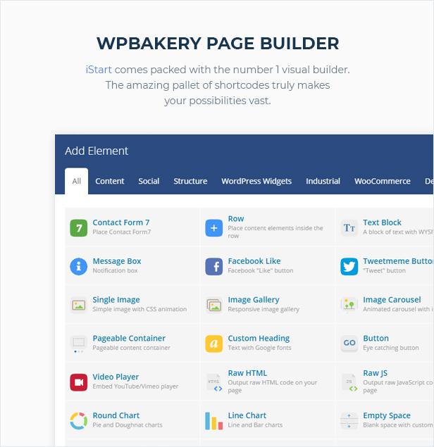iStart - WordPress Startup Business Theme - 5